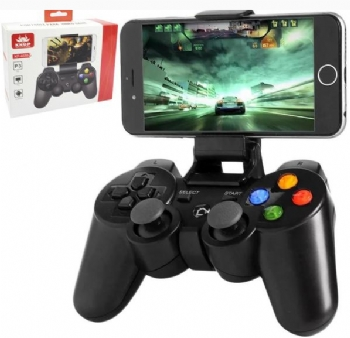 Controle Bluetooth para Smartphones, PC e Video Game PS3 * KP-4039 * - (Cod. 36785)