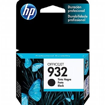Cartucho Original HP 932 CN057AL * 8,5 ml * Compativel com: 6100, 6600, 6700, 7100A, 7610 * Preto * (Cod. 31153-7)
