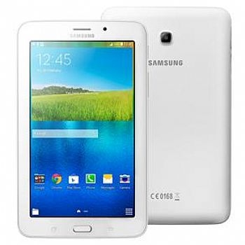 Tablet Samsung Galaxy TAB E 7'' Wi-Fi, 8 Gb, Quad Core 1.3 Ghz / Android / Dual Câmera e Filmadora / Bluetooth * Branco * (Cod. 33114-8)
