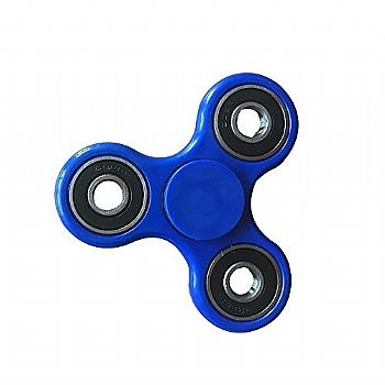 Fidget Hand Spinner * METAL * Azul (Cod. 33758-2) - * Serve como Amenizador da Ansiedade e do Stress *