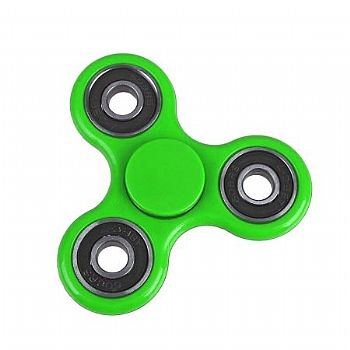 Fidget Hand Spinner * METAL * Verde (Cod. 33759-5) - * Serve como Amenizador da Ansiedade e do Stress *
