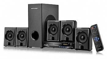 Home Theater MULTILASER SP224 * 5.1 * DVD com Saida HDMI / USB / Função Karaokê / Mp3  * 240 W RMS * PRETO * (Cod. 33793-5)