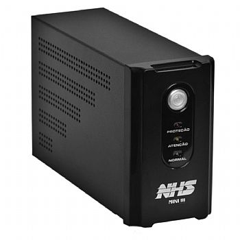No-Break 700 va NHS Mini III com Entrada: Bivolt / Saida: 120V  - (Cod. 34198-9)
