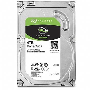 HD Sata 4 TB Seagate *Barracuda* 3.5 / 7200 RPM * (Cod. 34301-3)