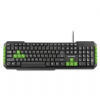 Teclado Gamer USB Multilaser TC201 (Cod. 33377-7)