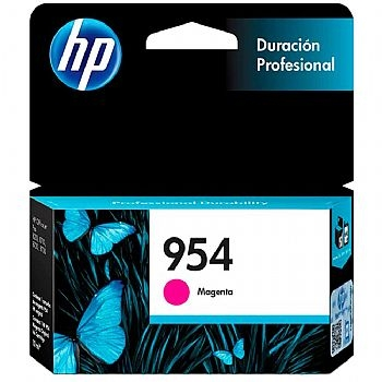 Cartucho HP 954 Ref. L0S53AB Original 10ML *Magenta* (7720 / 7740 / 8210 / 8710 / 8720 / 8730 ) - (Cod. 34880-1)