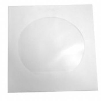 Envelope de Papel p/ CD/ DVD *Capacidade 1 CD/DVD* (BRANCO) (Cod. 25084-7)
