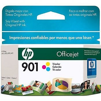 Cartucho HP Original Ref. CC656 (901) ** com 13 ml de tinta ** COLOR * (J4500 / J4540 / J4550 / J4580 / J4660 / J4680) (Cod. 30434-0)