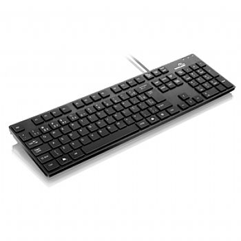 Teclado Soft Touch USB MULTILASER TC142 *PRETO* (Cod. 29822-3)