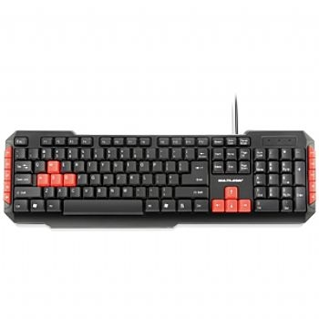 Teclado Gamer Multilaser USB TC160 (Cod. 30191-6)