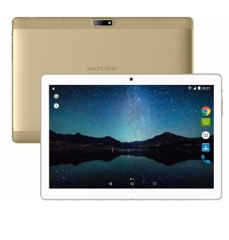 Tablet Multilaser Tela de 10'' 8 Gb / 3G 4G / M10A Lite Quad Core, Memória Ram 2 Gb / Bluetooth - (Cod. 35632-7)