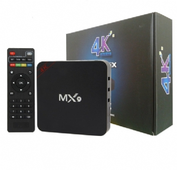 Smart Tv Box 16 Gb MX9 com 2 gb Ram / Quad Core 4K Conecta sua TV na Internet - (Cod. 35939-5)