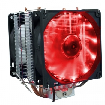 Ventilador Cooler Gamer para Processador Intel e AMD / com 2 Coolers Integrado - (Cod. 35424-8)