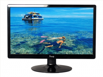 Monitor de Vídeo LED PCTOP 19,5'' Ultrafino com HDMI  - (Cod. 34997-8)