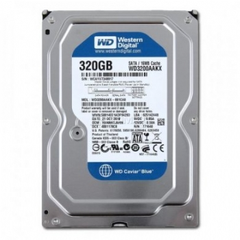 HD Sata 320 Gb Western Digital para Micros PC e Desktops - (Cod. 34866-5)