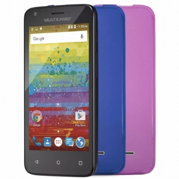 Smartphone Multilaser MS45 Teen 3G / 1 Gb RAM / Tela 4,5'' / 2 Chips - (Cod. 34951-2)