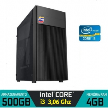 Micro Computador Intel Core i3-540 com 4 Gb e HD 500 / 3.06hz / Hdmi ** Brazil PC ** - (Cod. 35778-2NPD)