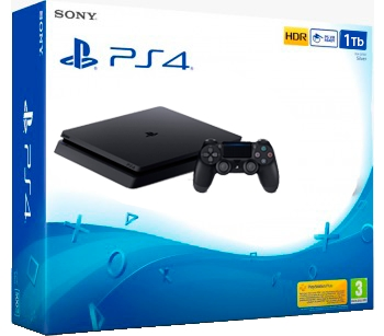 "Video Game PlayStation 4 Slim 1 Tb * Linha HDR * Controle + Headset  - (Cod. 35099-4) -  - <B><font color=""#FF0000"">R$ 2.190,00 a vista direto na Loja -  -"