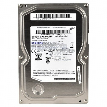 HD 500 Gb Sata 2 * Samsung * Para PC Desktop 3.5'' Modelo HD503HI - (Cod. 25812-4)